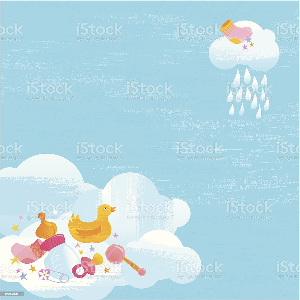 Baby Shower Greeting Card royalty-free baby shower greeting card stock vector art & more images of announcement message