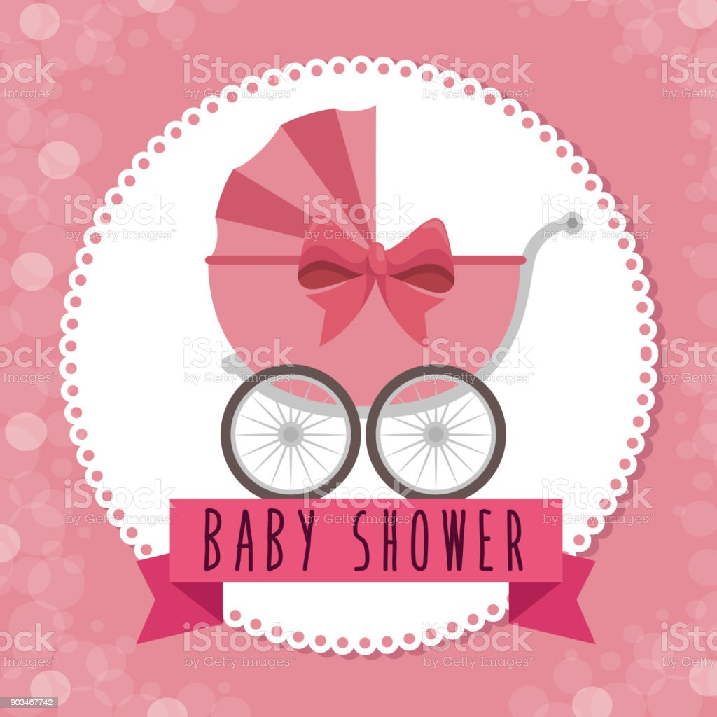 Baby Shower Greeting Card Stock Vector Art More Images Of