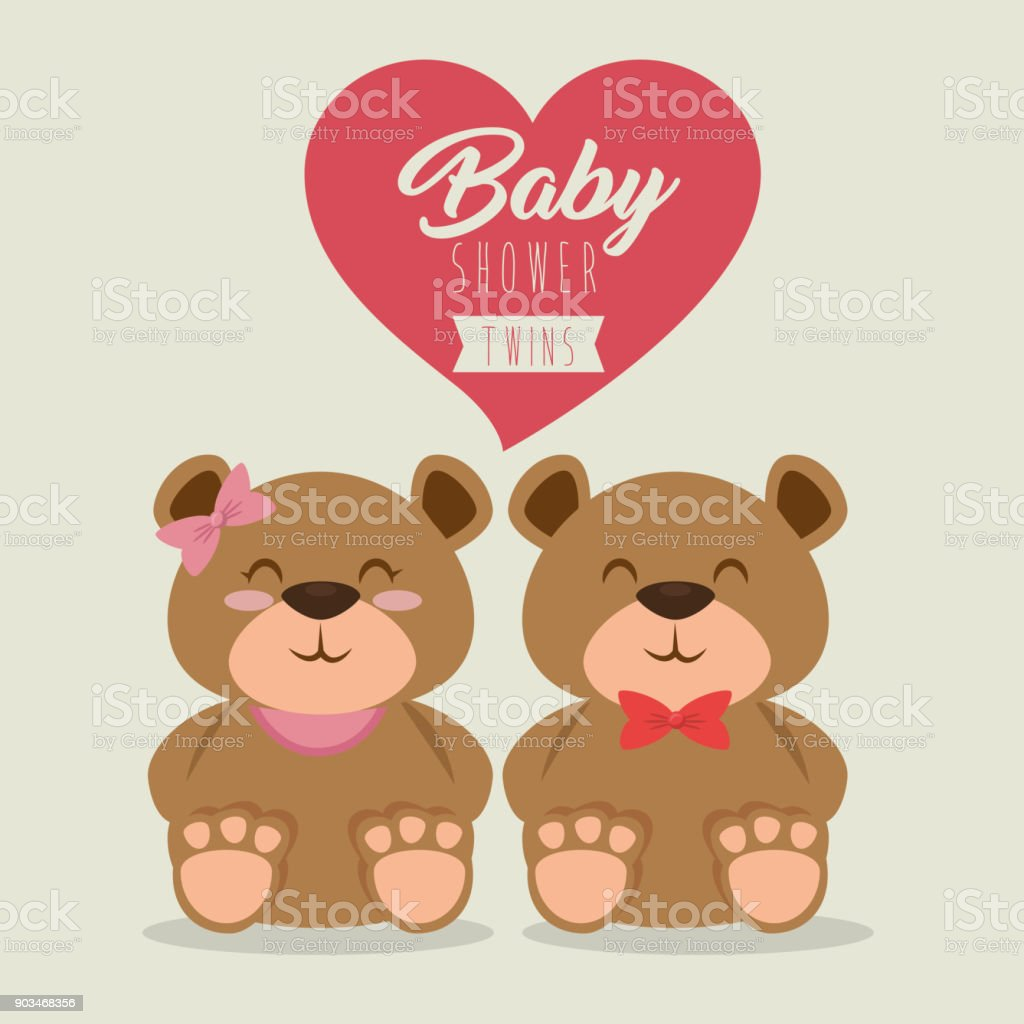 Baby shower greeting card stock vector art more images of animal baby shower greeting card royalty free baby shower greeting card stock vector art amp kristyandbryce Images
