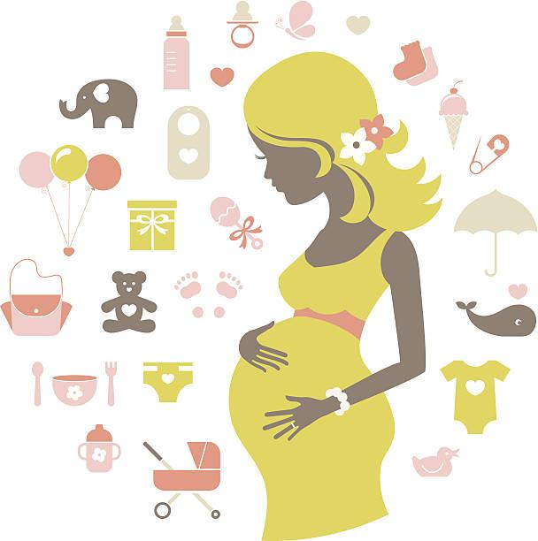 ilustrações de stock, clip art, desenhos animados e ícones de chá de bebé ícones - balão enfeite