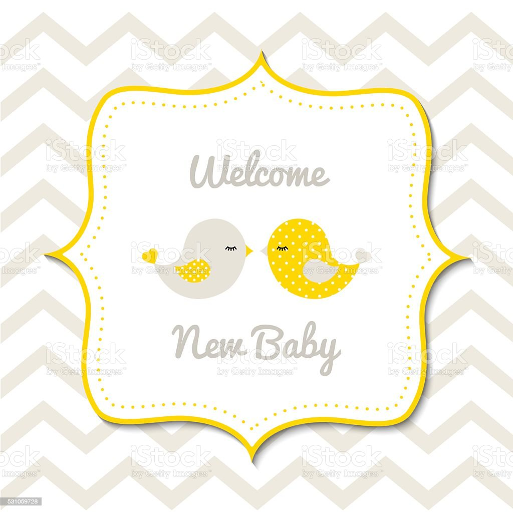 Baby shower, illustration vector art illustration