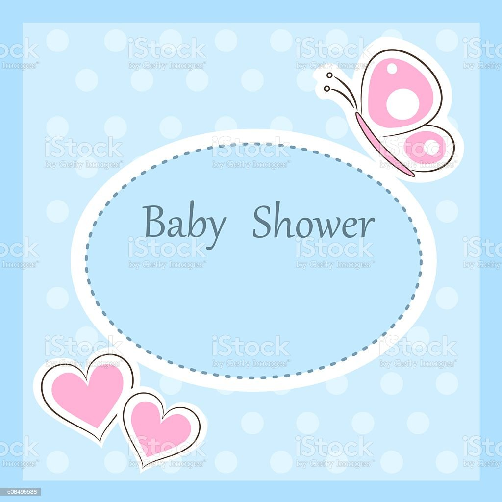 Babydusche Einladung Vorlage Stock Vektor Art und mehr Bilder von ...