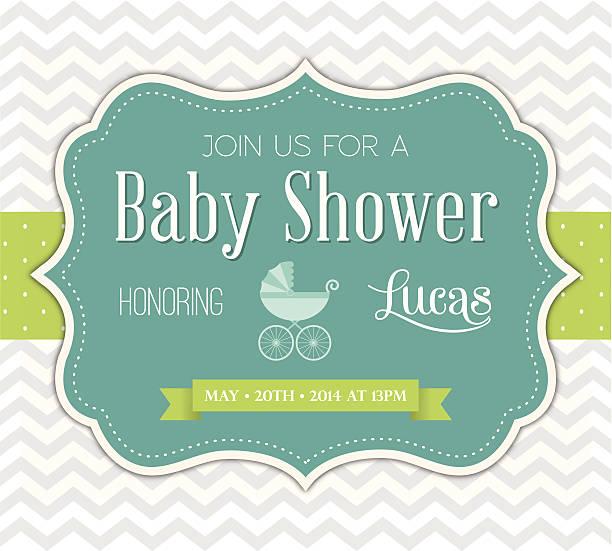 ベビーシャワーの招待状 - ベビーシャワー点のイラスト素材/クリップアート素材/マンガ素材/アイコン素材