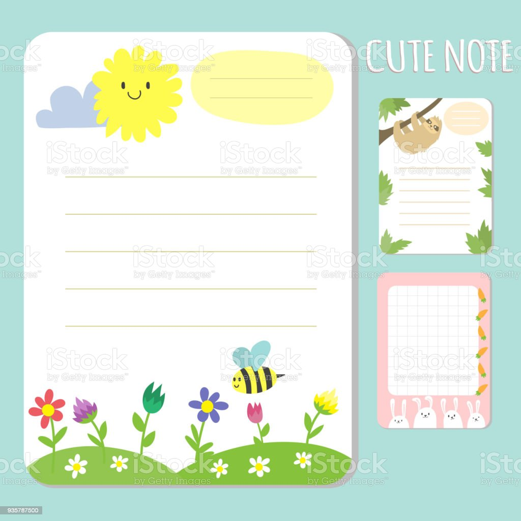 Ilustración de Bebé Ducha Invitaciones Tarjetas Vector Nota Lista ...
