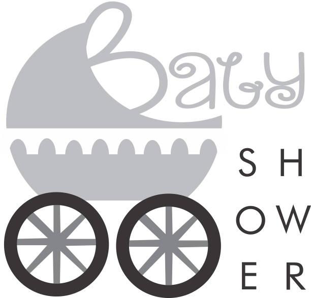 Baby Shower Logo Baby Depot Logo vector art illustration