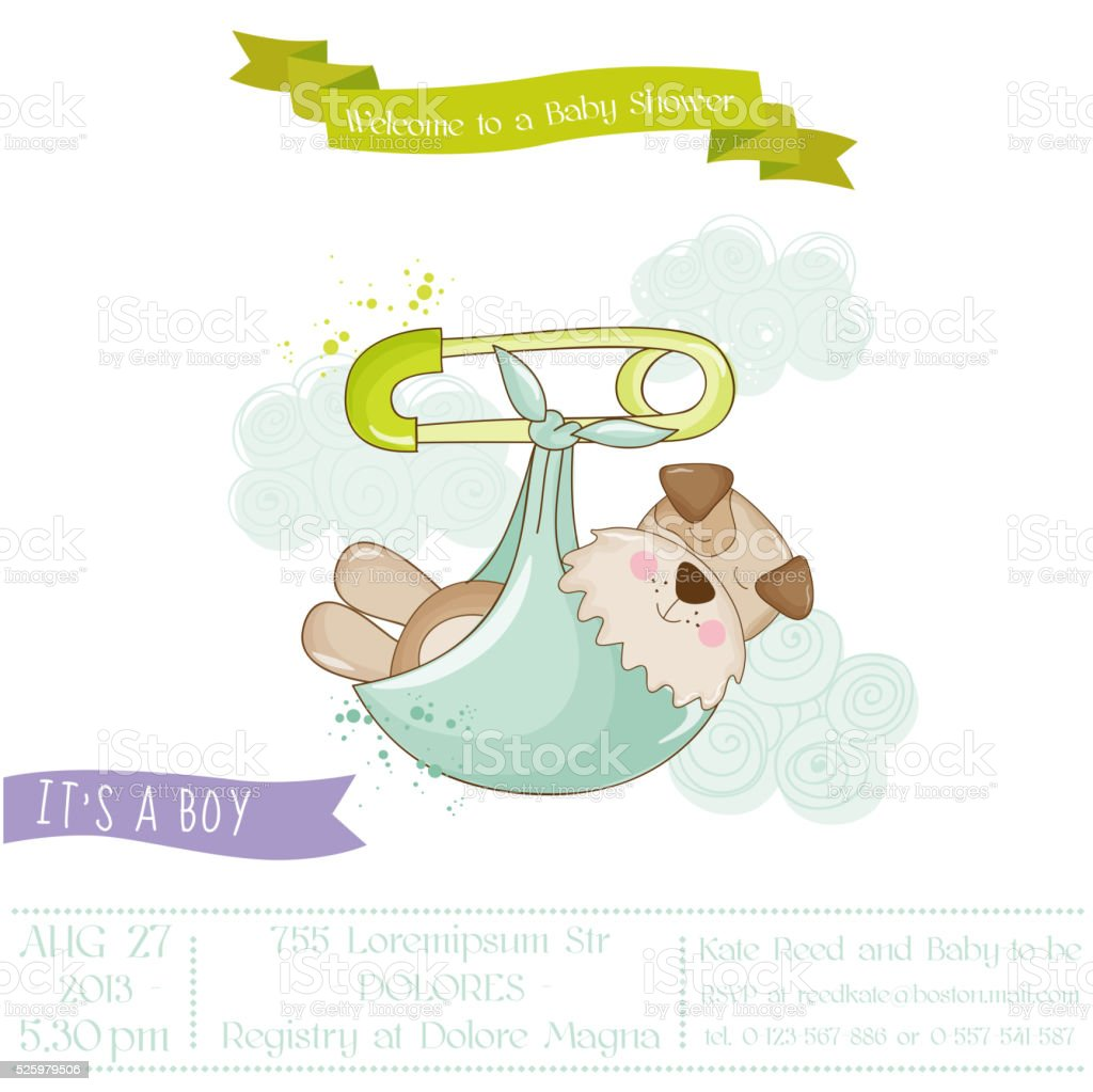 Baby Shower Arts And Crafts Part - 35: Animal, Dog, Announcement Message, Art, Art And Craft. Baby Shower ...
