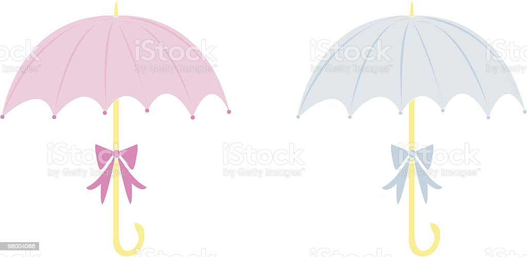 Baby Shower Umbrellas royalty-free baby shower umbrellas stock vector art & more images of blue