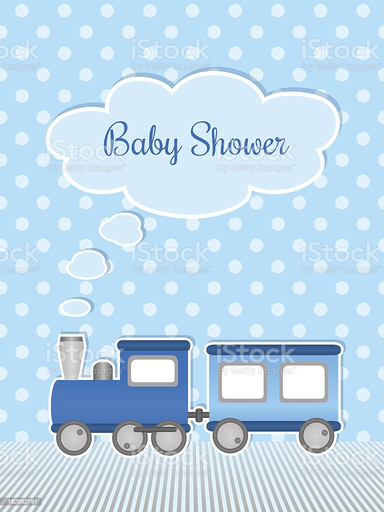 Baby shower royalty-free stock vector art