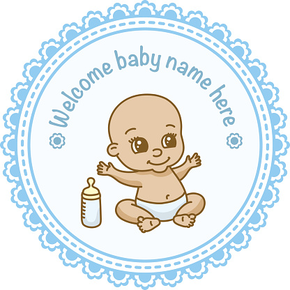 Baby shower welcome message