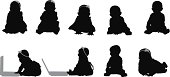 Baby silhouettes sitting up using laptop computerhttp://www.twodozendesign.info/i/1.png