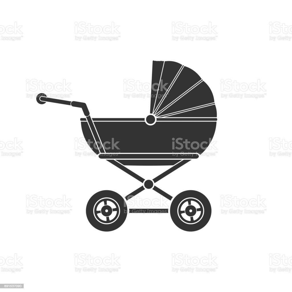 Royalty Free Newborn Baby In Hospital Crib Clip Art Vector Images