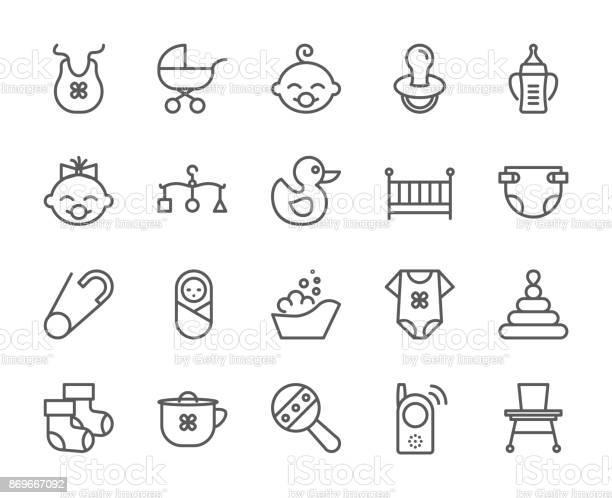 Baby theme pixel perfect 48x48 icons pictograms of baby pram crib vector id869667092?b=1&k=6&m=869667092&s=612x612&h=7lpvpm ooh6ors etck7o0rckqehorhbs 9r44il qo=