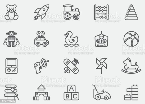 Baby toy line icons eps10 vector id670740930?b=1&k=6&m=670740930&s=612x612&h=yhvjont205g5axh1xrys1sg2kqwmbkr swc4mw7x4ge=