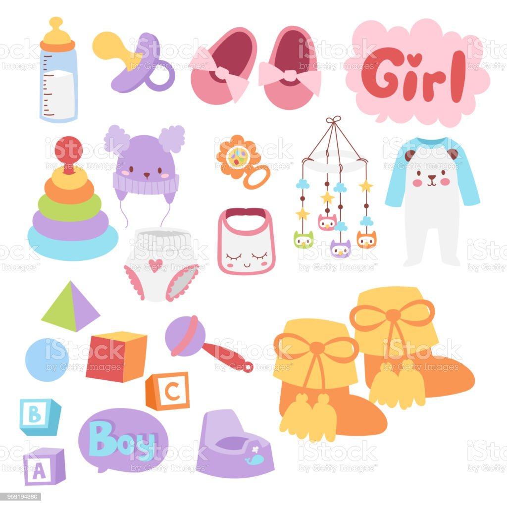 9f06f541ba0b27 Icônes de jouets bébé cartoon design de magasin de jouets enfant famille  mignon garçon et fille
