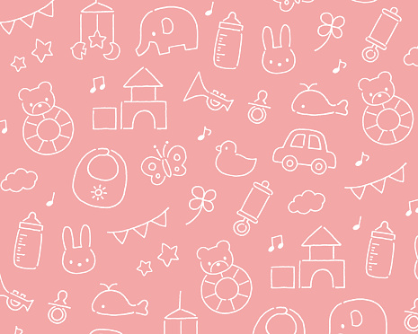 Baby toys pattern