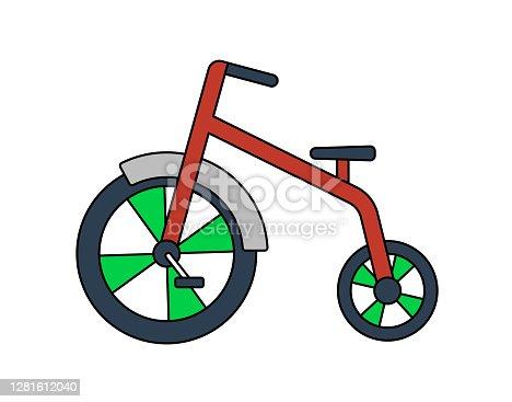 istock Baby Trike Icon 1281612040
