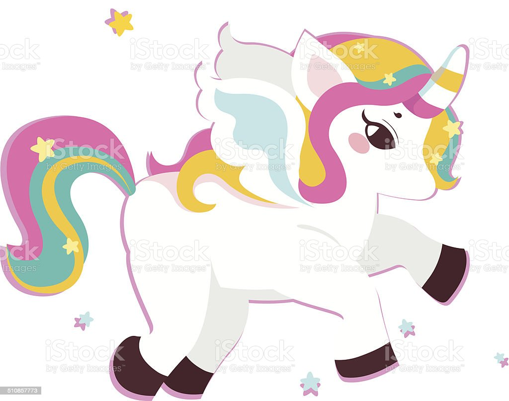 Baby Unicorn Character Royalty Free Stock Vector Art Amp More Images