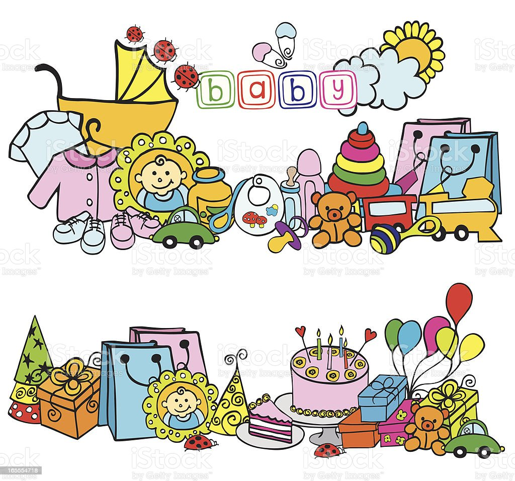 baby royalty-free baby stock vector art & more images of 0-11 months