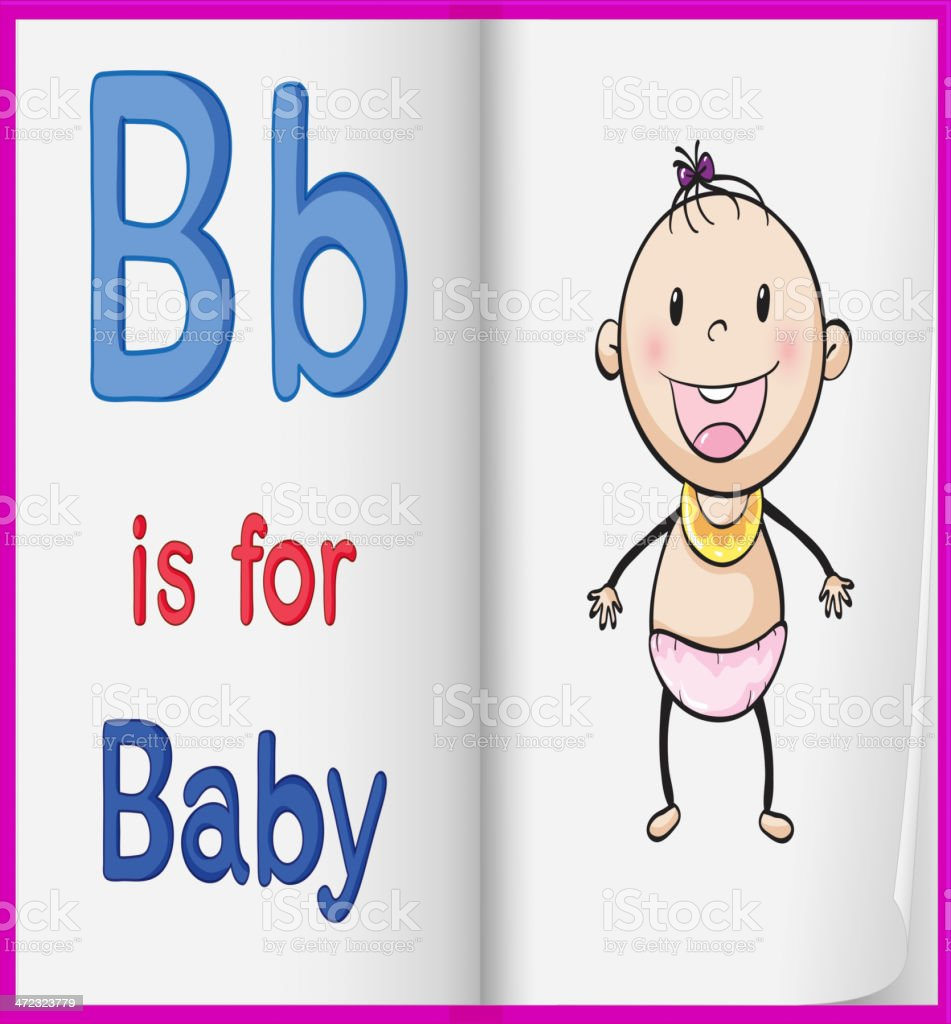 Baby royalty-free baby stock vector art & more images of alphabet