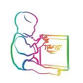 Baby's Book Rainbow