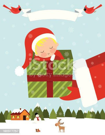 istock Baby's First Christmas 165977257