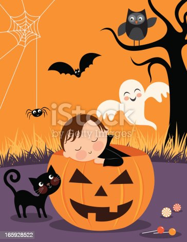 istock Baby's First Halloween 165928522
