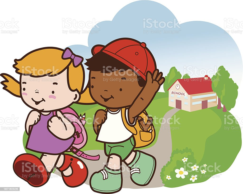 Back from school royalty-free back from school stock vector art & more images of 2-3 years