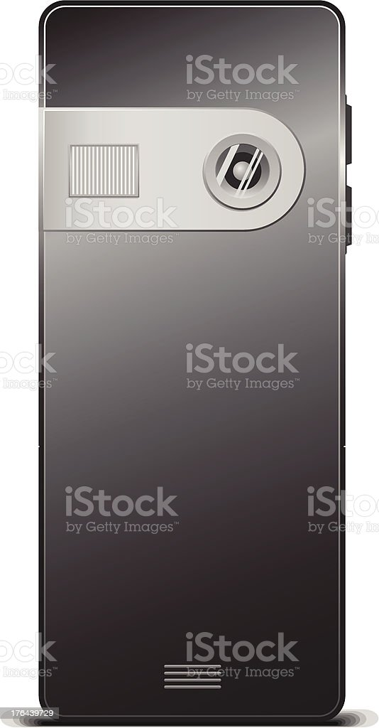 Back Mobile Phone royalty-free back mobile phone stock vector art & more images of blue