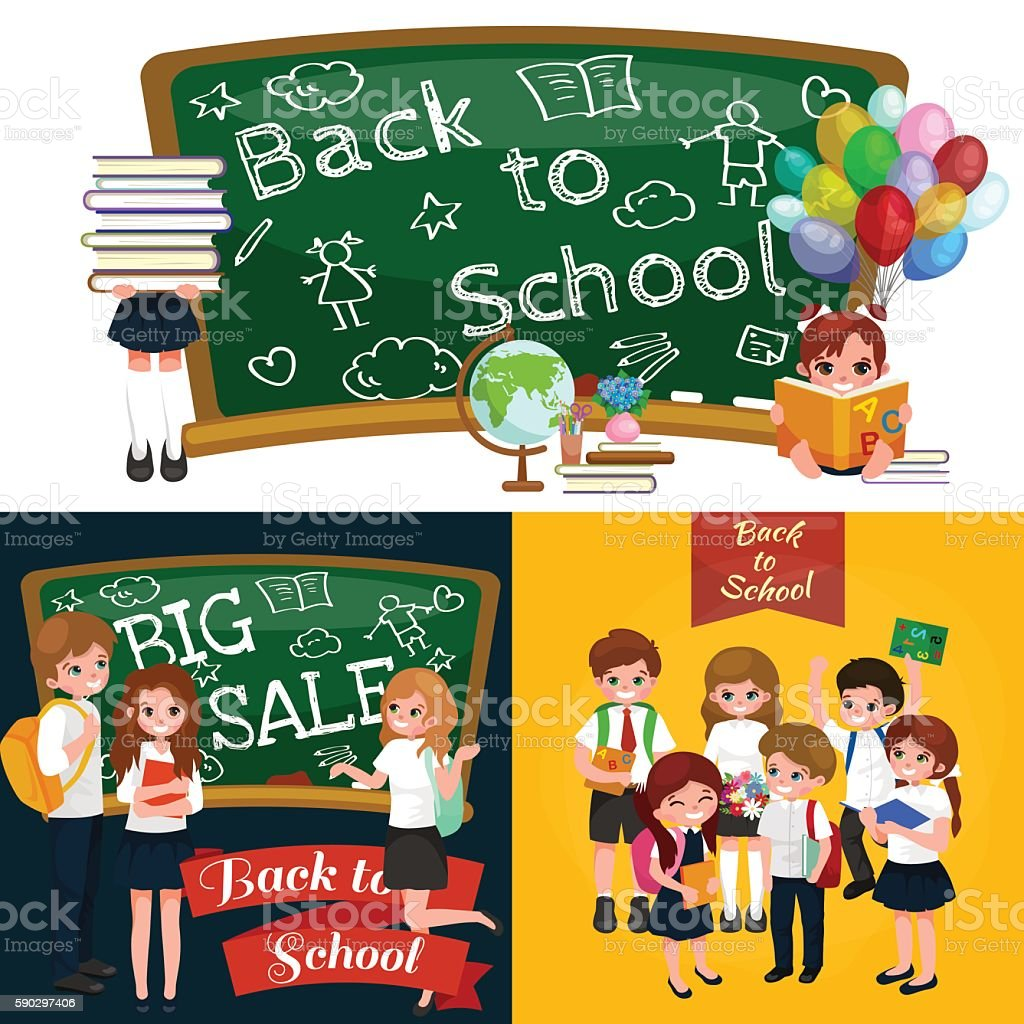 back to school and children education concept vector background royaltyfri back to school and children education concept vector background-vektorgrafik och fler bilder på arbetsverktyg