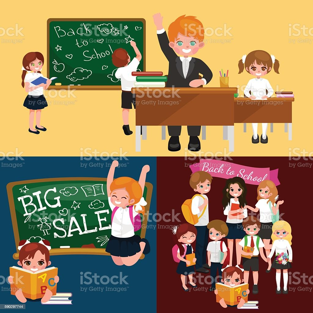 back to school and children education concept vector background royaltyfri back to school and children education concept vector background-vektorgrafik och fler bilder på arbetsverktyg