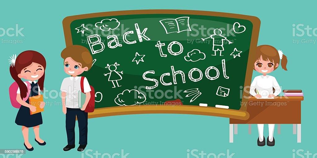 back to school and children education concept vector background back to school and children education concept vector background — стоковая векторная графика и другие изображения на тему Белый Стоковая фотография
