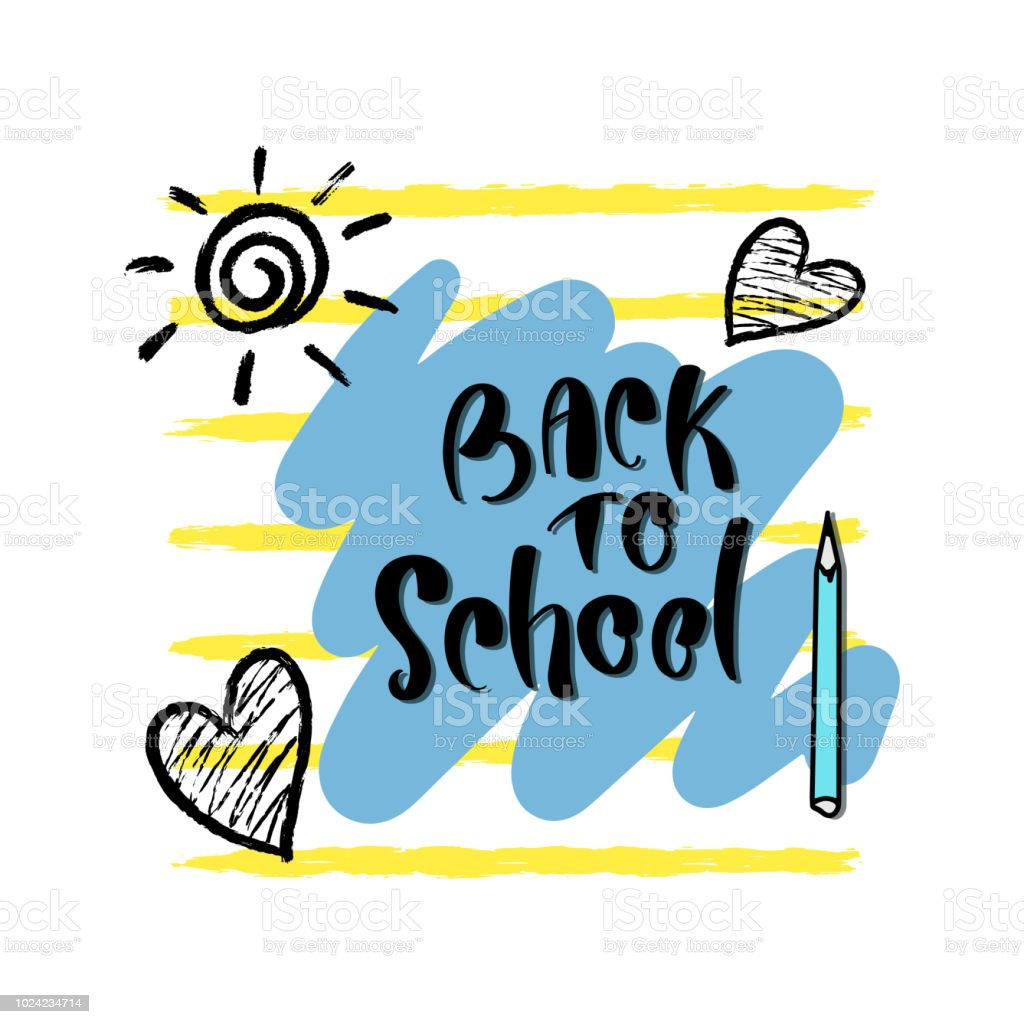 Back To School Back To School Poster Education Background Flyer
