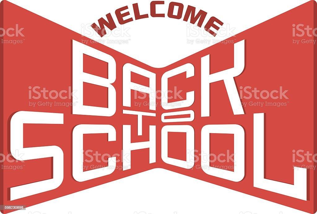 Voltar para a escola de fundo, ilustração vetorial. ilustração de voltar para a escola de fundo ilustração vetorial e mais banco de imagens de aprendendo royalty-free