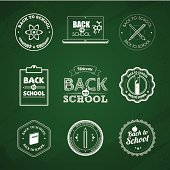 Back to school badges. Aics3 and hi-res jpg files are included.