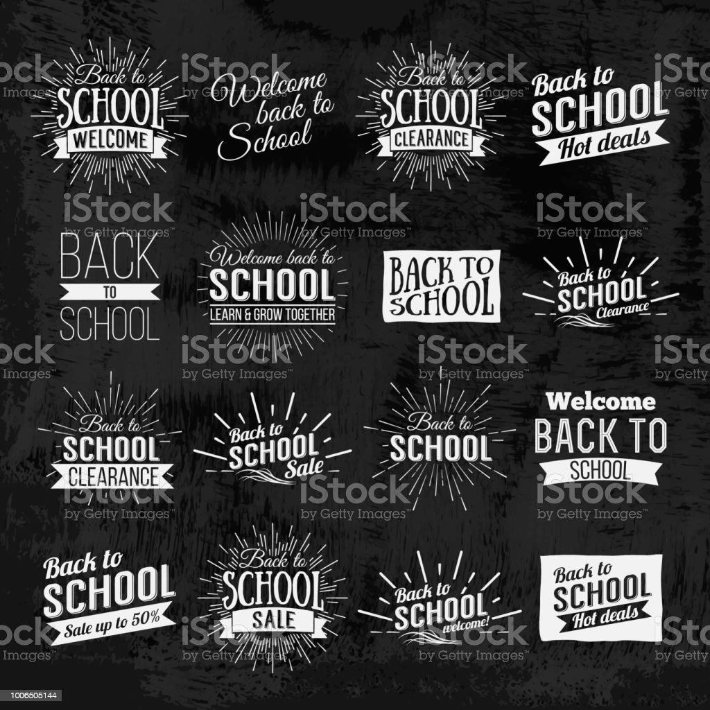 学校の黒板の文字に戻る お祝いのベクターアート素材や画像を多数ご