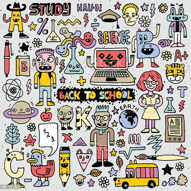 Back to school colorful doodle set vector illustration hand drawn vector id484855768?b=1&k=6&m=484855768&s=612x612&h=sy8naaxzz n01rscfs1cxpuf6hjqpxmbuvio0srdapo=