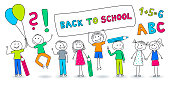 Back to School - Comic Banner