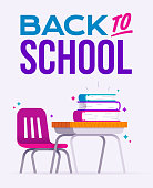 istock Back to School Desk and Learning 1262933510