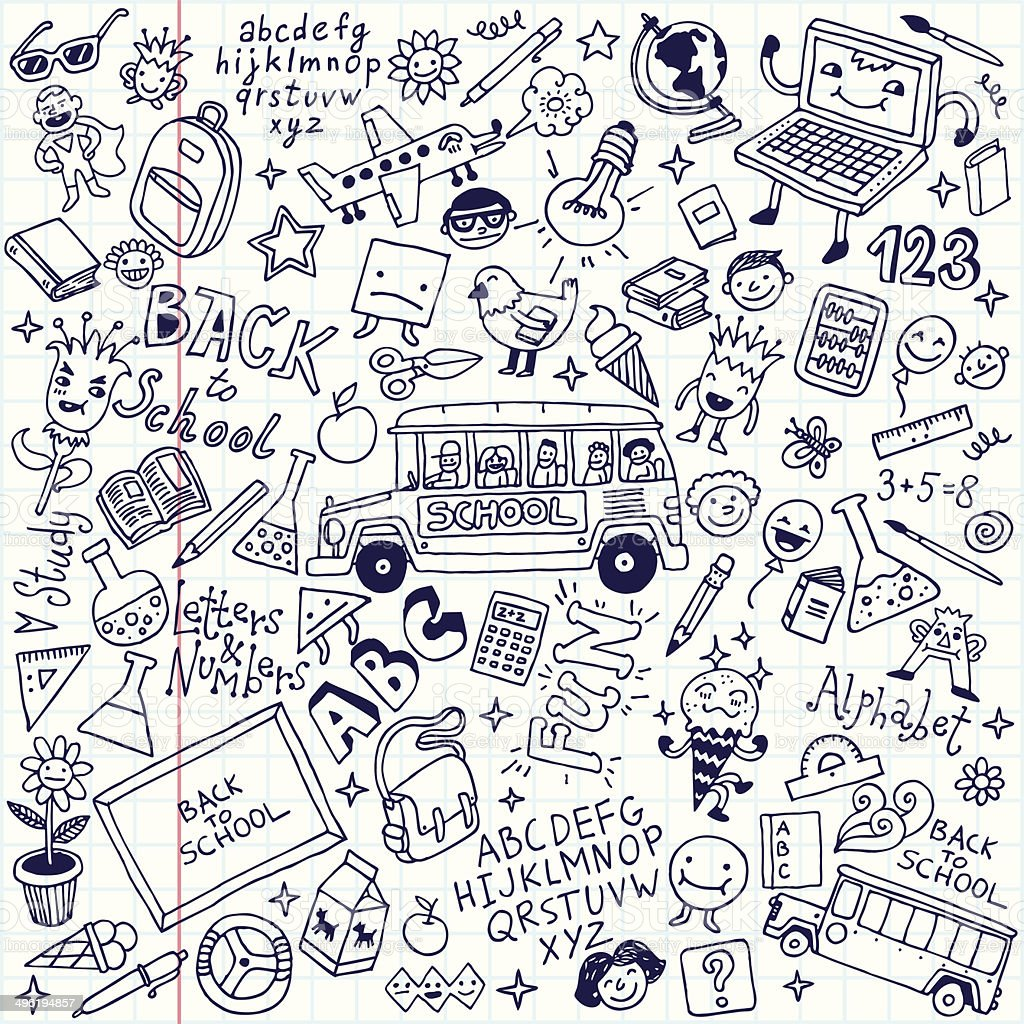 royalty free doodles clip art vector images