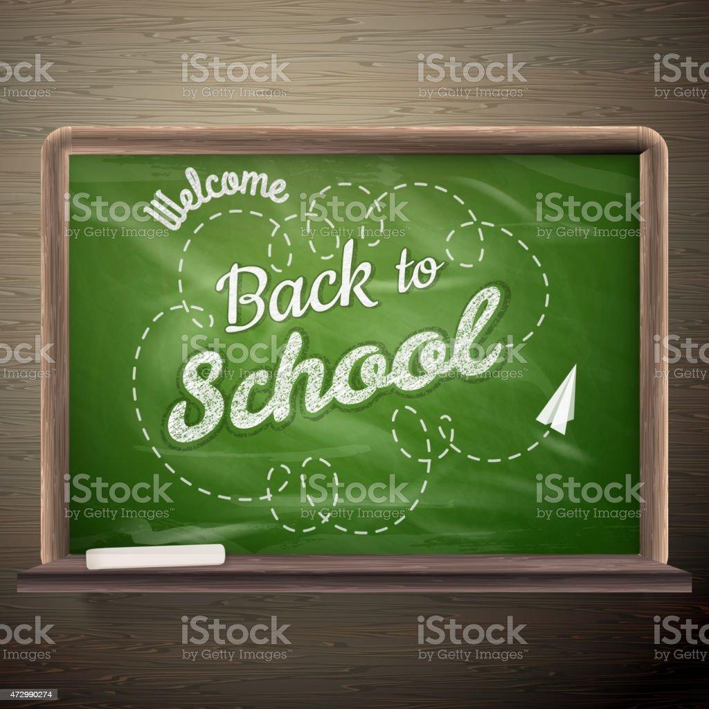 Back to School. EPS 10 vector art illustration