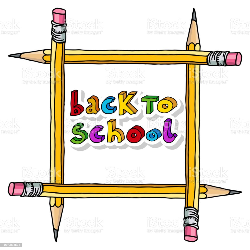 Back To School Greetings Stock Vector Art More Images Of Art