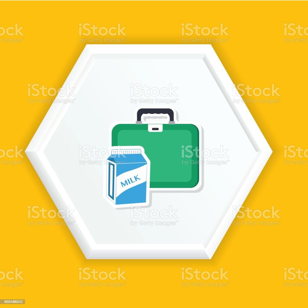 Back To School Icon vector art illustration