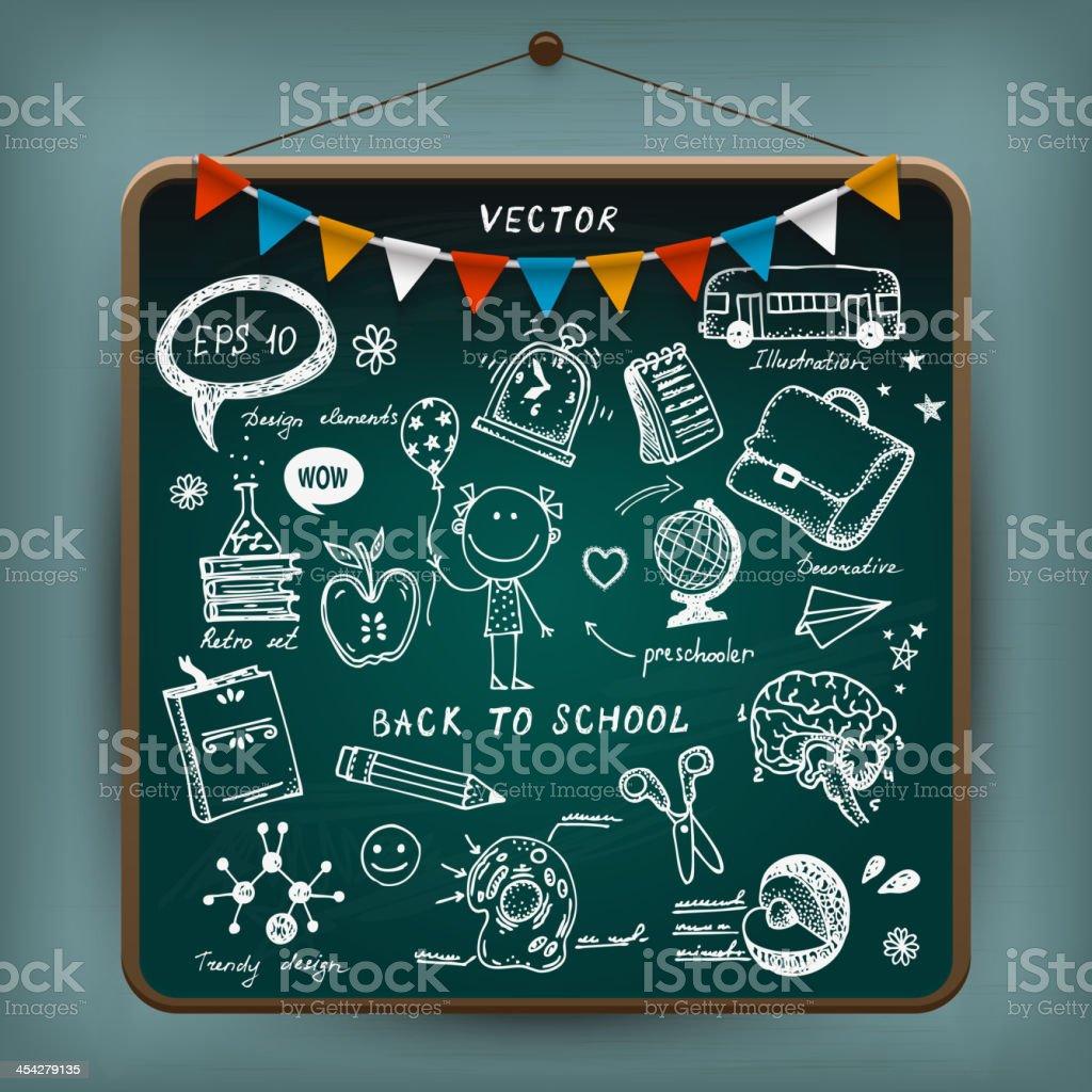Back To School illustration royalty-free back to school illustration stock vector art & more images of alarm clock