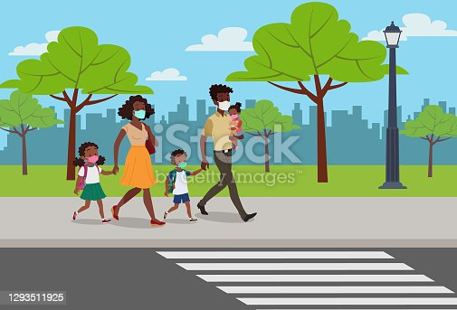 istock Back to school in the COVID-19 pandemic 1293511925