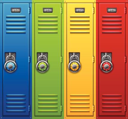 Back to School Lockers