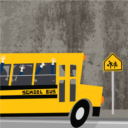 Back to school , schoolbus