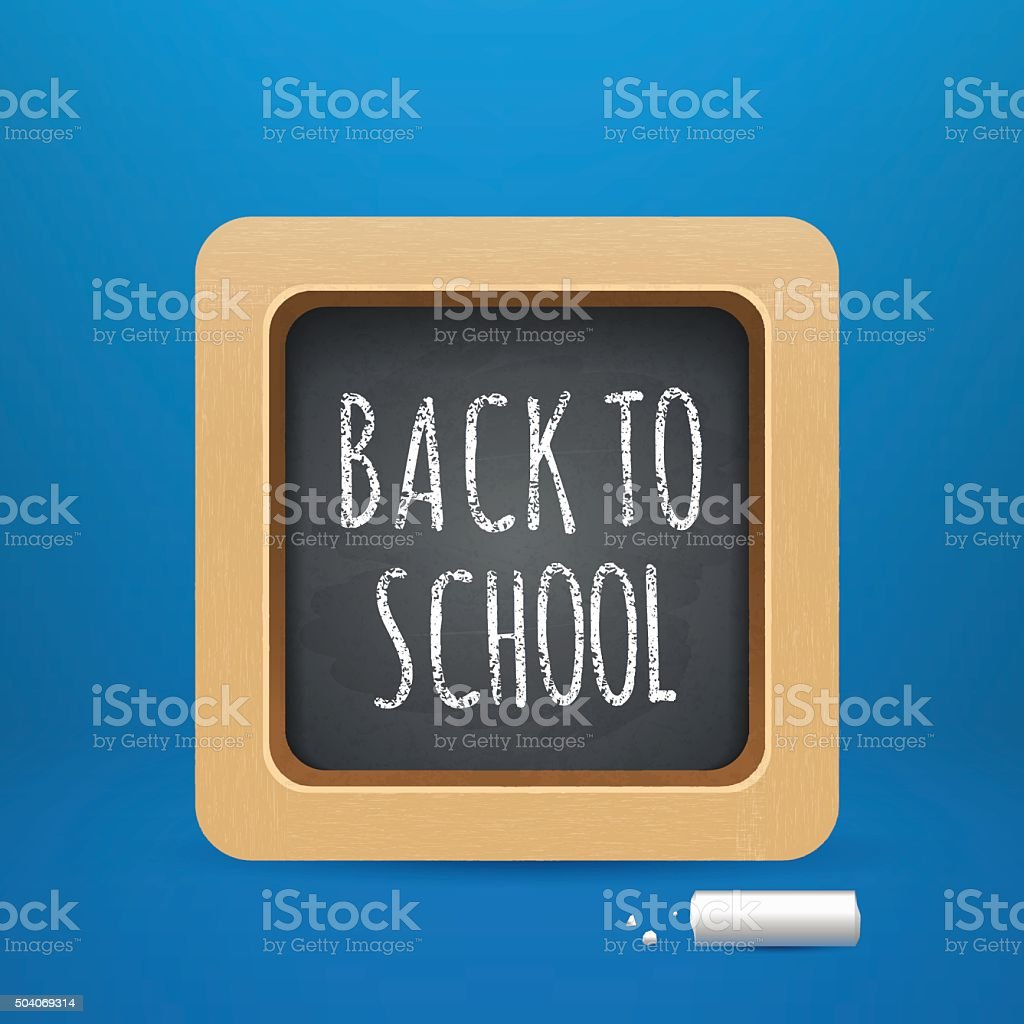 Back to school theme objects eps 10 vector art illustration