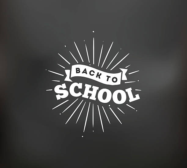 back to school typographic labels set. - back to school stock illustrations, clip art, cartoons, & icons