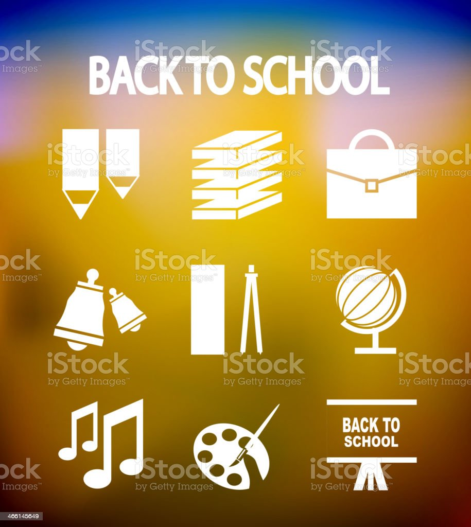 Back to school vector icons royalty-free back to school vector icons stock vector art & more images of alphabet