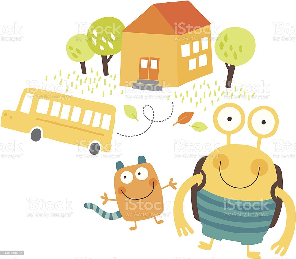 Back to school royalty-free back to school stock vector art & more images of autumn